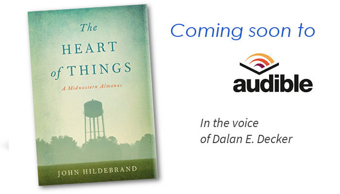 "SoundFridge announces deal to produce ""The Heart of Things"" by John Hildebrand"