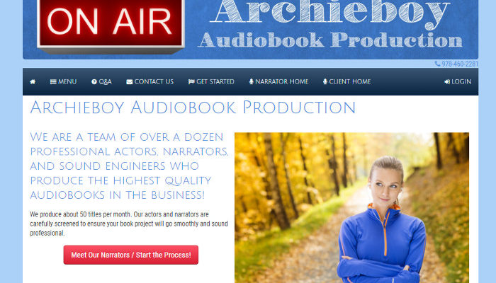 Dalan joins the team at Archieboy Audiobook Production