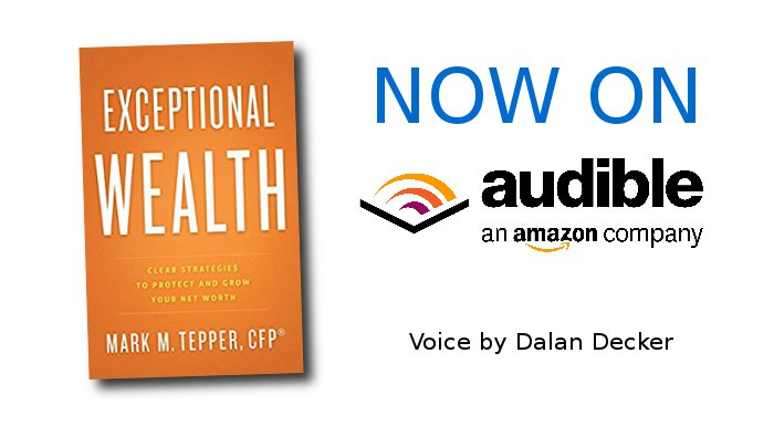 Dalan Decker produced Exceptional Wealth by Mark Tepper as an audio book