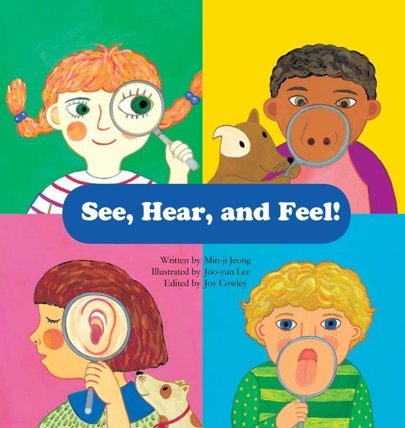 "SoundFridge produces audiobook of ""See, Hear & Feel!"" for Lerner Press"