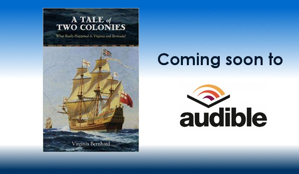 "SoundFridge inks deal to produce audiobook of ""A Tale of Two Colonies"" by Virginia Bernhard"